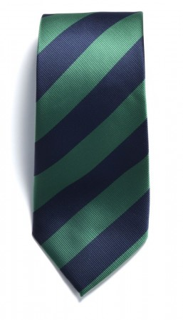The regimental stripe Navy/Green