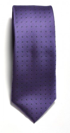 Tie dotted Purple/Navy