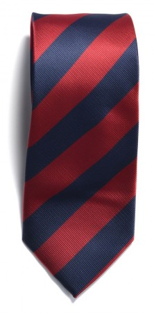 The regimental stripe Navy/Red